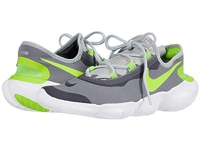 Nike Free RN 5.0 2020 (Smoke Grey/Volt/Light Smoke Grey) Men