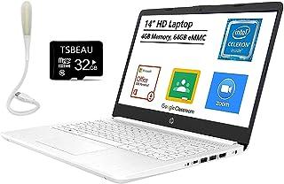 HP Stream 14インチ ノートパソコン Intel Celeron N4020 4GB メモリ 64GB eMMC Windows 10Sモード Office 365 Personal for One Year(Google Class...