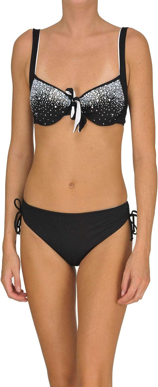Twin-Set EZGL034145 Women's Black Nylon One-Piece Suit