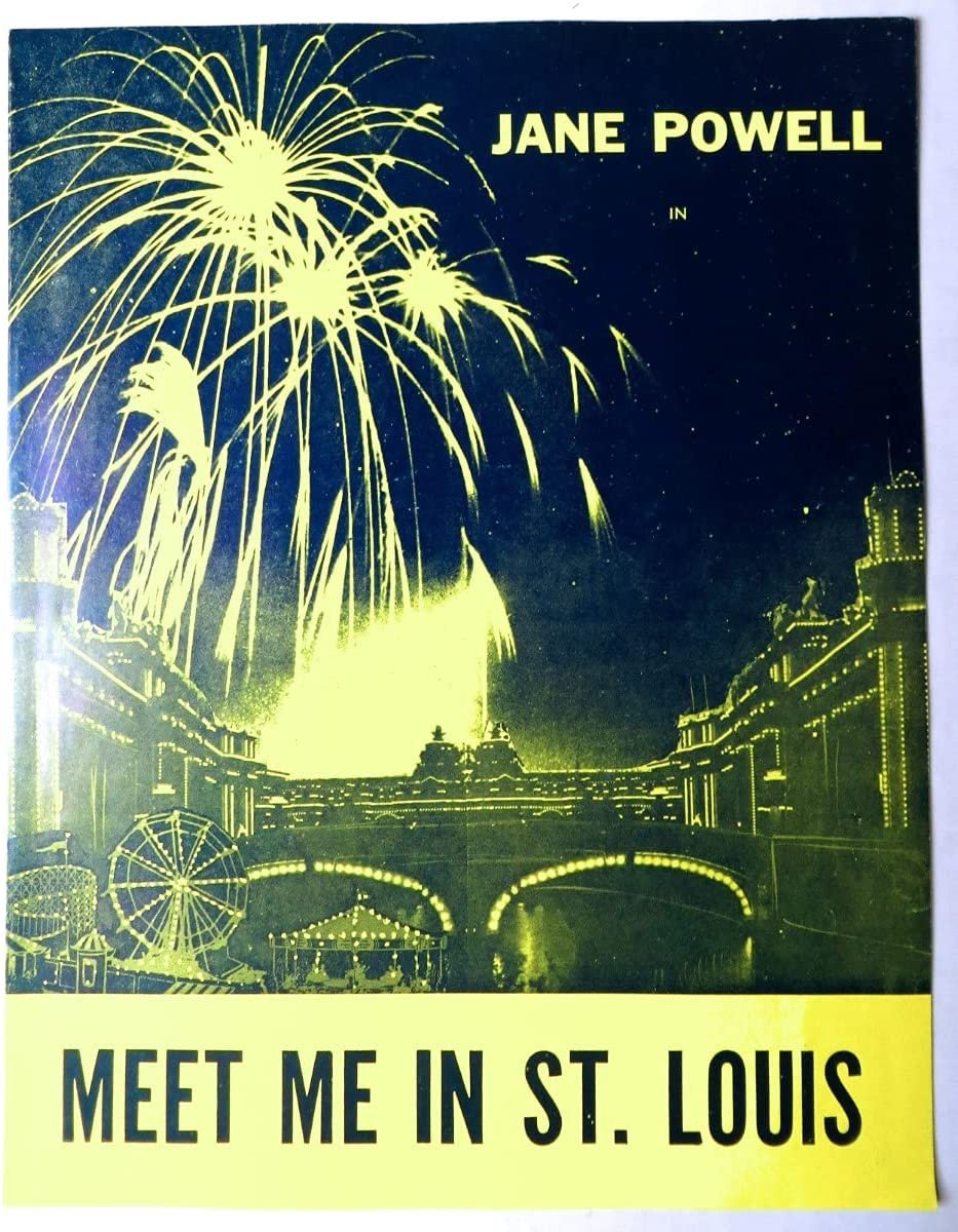Jane Popular brand in the world Powell Signed Autographed Program 2021new shipping free shipping Meet Me St. BAS Louis