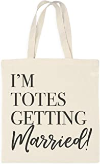 totes getting married tote bag
