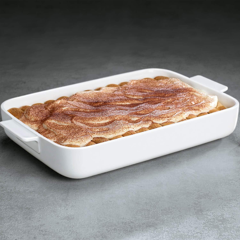 Villeroy /& Boch Clever Cooking Plat /à four rectangulaire Porcelaine Premium 30 x 20 cm Blanc