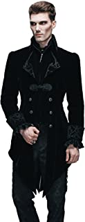 HaoLin Steampunk Coat Gothic Clothing Cyberpunk Clothes Punk Jacket Renaissance Costume