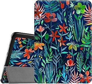 Fintie SlimShell Funda para Samsung Galaxy Tab S2 8.0 - Súper Delgada y Ligera Carcasa con Función de Soporte y Auto-Reposo/Activación para Modelo de SM-T710/T715/T719, Jungla