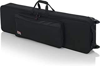 Gator Cases Lightweight Keyboard Case with Pull Handle...