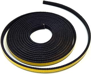Chimenea Junta Junta labio y puente resistente al–Cinta autoadhesiva para discos de Junta. Apto para Varios Modelos Oranier Chimenea 2m, diámetro 10x 2mm