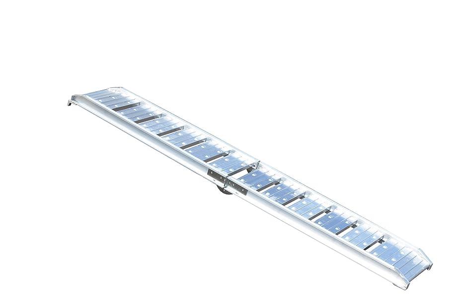 モスクたっぷり参照SEIKOH アルミラダーレール アルミブリッジ 軽量 コンパクト 二つ折りCタイプ 耐荷重 200kg