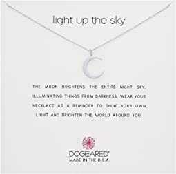 Light Up the Sky Thin Crescent Moon Necklace