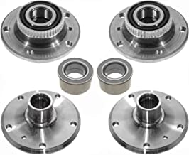 FRONT + REAR LEFT RIGHT HUB HUBS + Wheel Bearing Bearings 6 for BMW E36 E46 325i