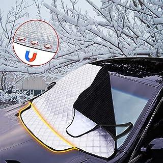 Protector de Parabrisas,Bigmeda Cubierta del Parabrisas Parasol de Coche Protector de Parabrisas Contra el Hielo de la Escarcha de Nieve car Carro del Coche SUV Parabrisas Delanteras Windshiled