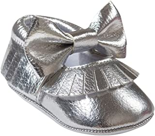 Weixinbuy Baby Girls' Bowknot Mary Jane Shoes