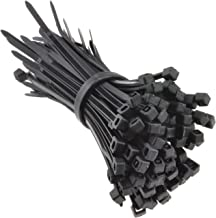 kenable Black Cable Ties 80mm x 2.5mm Nylon 66 UL Approved [100 Pack]