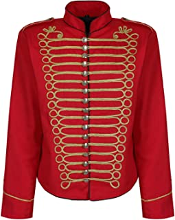 Ro Rox Herren Steampunk Napoleon Offizier Parade Jacke