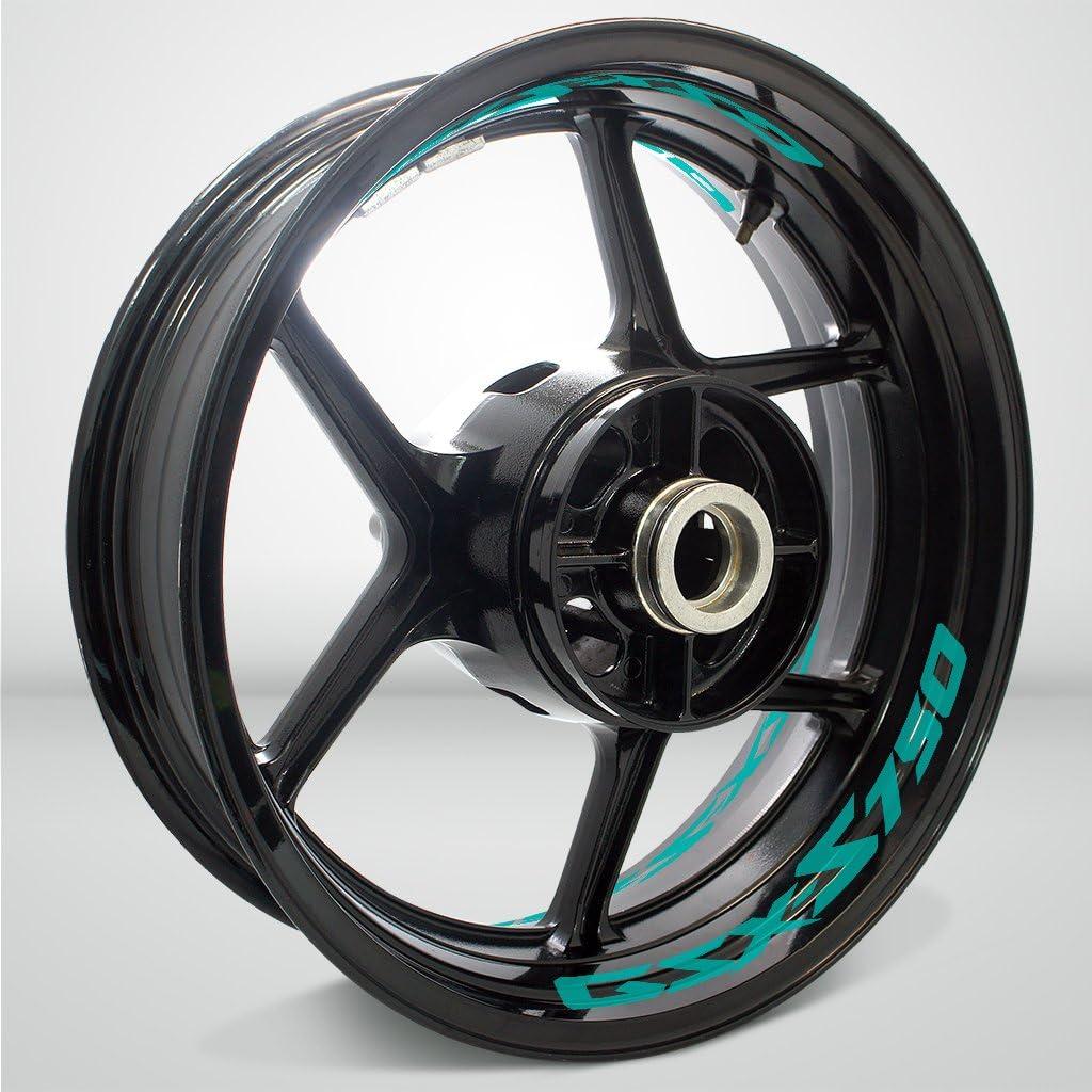 Surprise price Fashionable Stickman Vinyls Matte Turquoise Motorcycle Tape Sticke Rim Inner