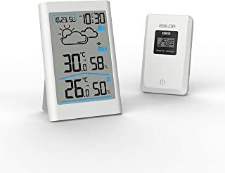 BALDR ws0341wh1 Outdoor Thermometers, One Size, White