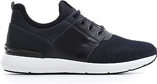 Nero Giardini A800581U Sneakers Homme en Cuir Et Toile