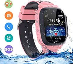 LDB Direct Kids Smartwatches Waterproof, GPS/LPS Tracker Phone SOS Two-Way Call Touch..