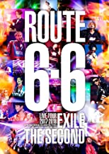 """EXILE THE SECOND LIVE TOUR 2017-2018 """"ROUTE 6・6""""(DVD2枚組)(通常盤)"""