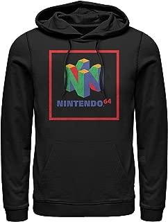 Nintendo Men's Classic N64 Logo Frame Hoodie