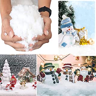 Indoor Kunstmatige Sneeuw Realistische Instant Pluizige Sneeuw Poeder Instant Sneeuw Simulatie Voor Winter Thema Feestdeco...