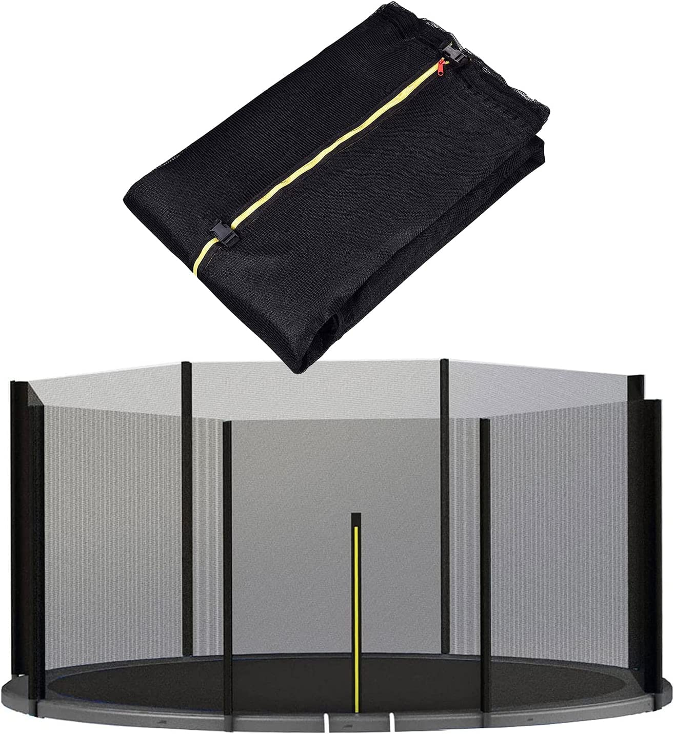 KYIS Recreational Trampoline Safety Free shipping / New Enc Enclosure Net Long-awaited