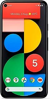 Google Pixel 5 5G (2020) GTT9Q 128GB (GSM | CDMA) Factory Unlocked Android Smartphone (Just Black) - International Version