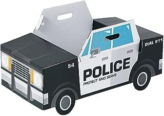 Fun Express - Police Car Box Costume - Apparel Accessories - Costumes - Kids - Unisex Costumes - 1 Piece