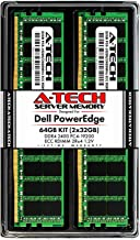 A-Tech 64GB (2x32GB) Memory for Dell PowerEdge R440, T440, R540, R640, T640, M640, FC640, R740, R740XD, R940, C6420 | DDR4...