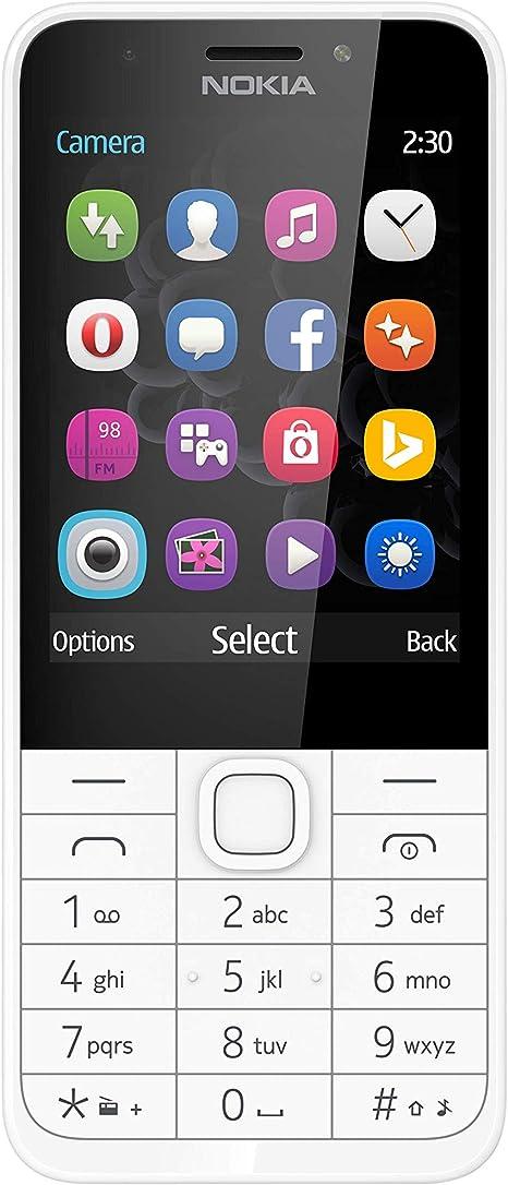 Nokia 230 Dual Sim Smartphone 2 8 Zoll Silber Elektronik