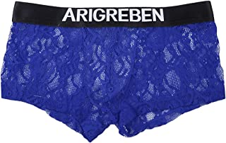 Prettyia Mens Lace Solid Underwear Briefs Classic Underpants M L XL XXL
