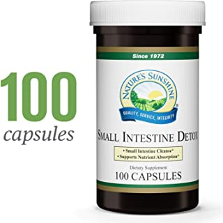 Nature's Sunshine Small Intestine Detox, 100 Capsules | Natural Formula Soothes Digestive Tissue and Helps with The Breakdown of Proteins