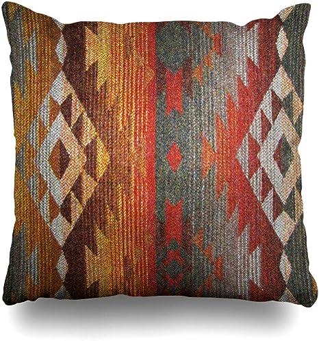 Jacquard Pillow Cover. Southwestern Scatter Cushion Cover Pillow Cover Tribal Cushion Cover