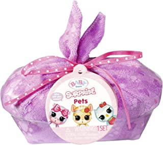 Baby Born Surprise Pets Series 2 with 8+ Surprises, Color Change and Bathtub, Multicolored