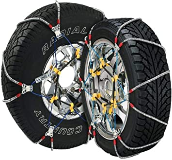 Security Chain Company SZ429 Super Z6 Cable Tire Chain for Passenger Cars, Pickups, and SUVs - Set of 2: image