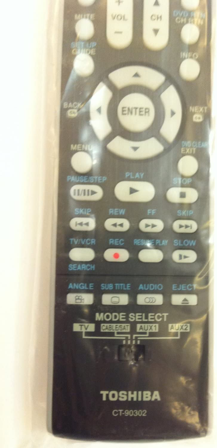 New Original Toshiba Universal LCD CT-90302 Control HDTV Max 49% OFF Excellence Remote