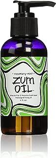 Indigo Wild Zum Massage Oil, Rosemary-Mint, 4 Fluid Ounce