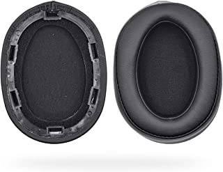 Defean Replacement Ear Pads Cushion for Sony MDR-100ABN 100 ABN WH-H900N MDR WH H900 N Headphones (Black)