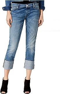 Women's Liv Dj Blues Wash Relaxed Cuffed Jeans