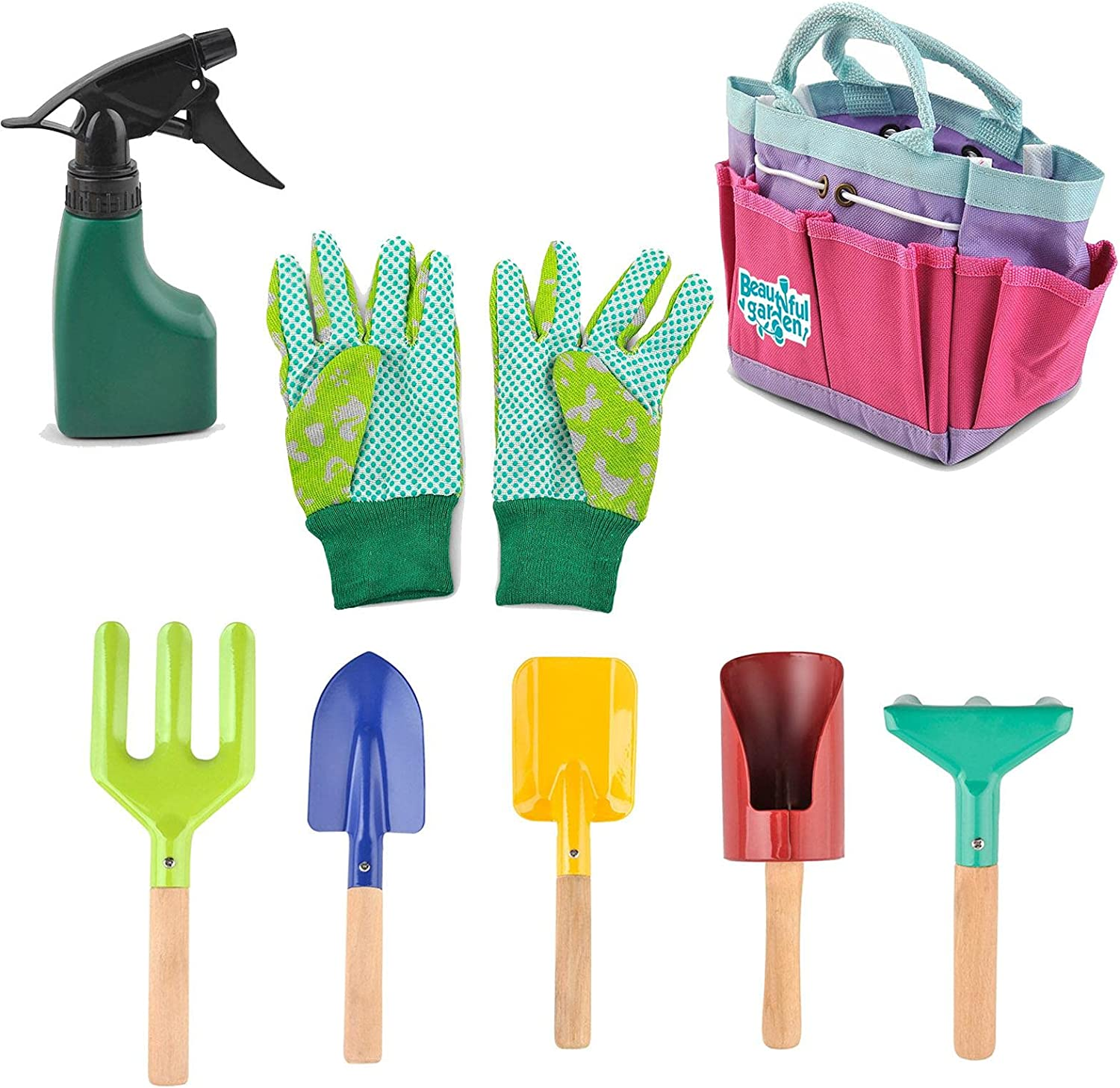 Excellence Mona43Henry Kids Gardening Tools Set Garden for Bag 2021 autumn and winter new G