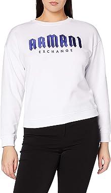 Armani Exchange Gothic Writing Sweat-Shirt Femme