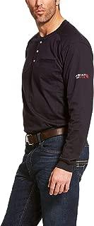 Men's Flame Resistant Air Long Sleevehenley Shirt