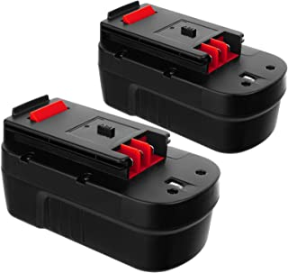 Decker - Batería de repuesto para Decker HPB18 244760-00 A1718 FSB18 Black and Decker de 18 voltios Corless Tools