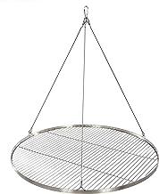 80 cm Grillrost Edelstahl für Schwenkgrill 3 Bein BBQ Grill Rost mit Seil neu