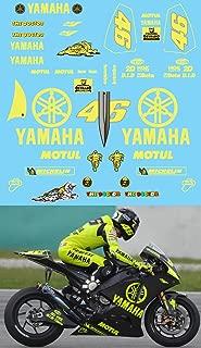 Ecoshirt 48-ODMP-XX9F Autocollants Tmax F203 Autocollants Aufkleber Decals Moto GP Bike Noir