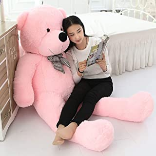 Frantic Premium Quality Huggable Stuffed Teddy Bear in Baby Pink Color – 3 Feet