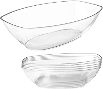 Clear Plastic Serving Bowls for Parties