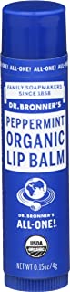 Dr. Bronner's Organic Lip Balm Peppermint 0.15 oz