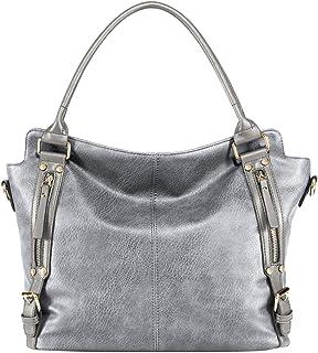 semen Handtasche Damen PU Leder Tasche Umhängetasche Elegant Business Modern Hobo Taschen Große Kapazität 43 * 31 * 15cm