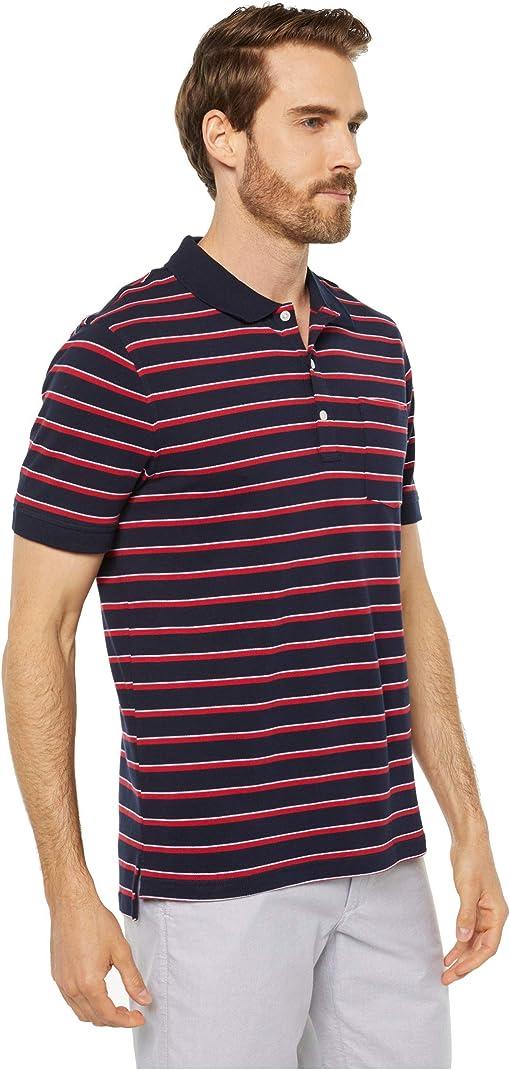 Navy/Red Ithaca Stripe