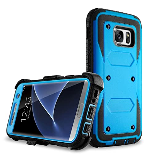 quality design cba50 eb0b5 Galaxy S7 Edge Case with Screen Protection: Amazon.com